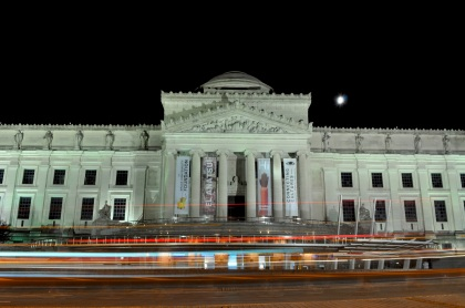 Brooklyn Museum At Night - New York City, New York