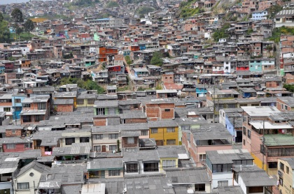 Hillside Dwellings - Manizales, Colombia