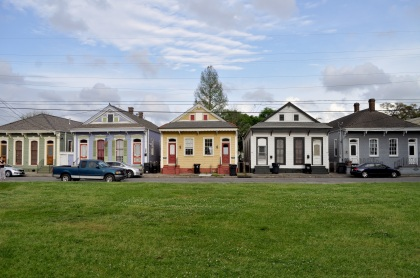 Bywater Shotgun Houses - New Orleans, Louisiana