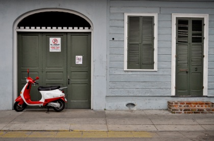 French Quarter Scooter - New Orleans, Louisiana