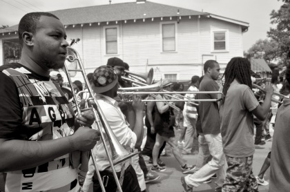 Trombone Break - New Orleans, Louisiana
