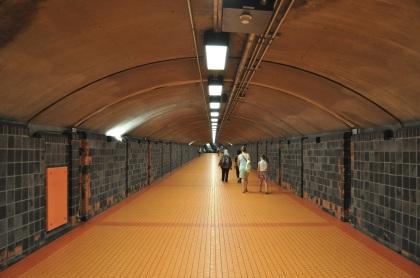 Metro Tunnel - Montreal, Quebec