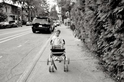 Stroller Wheelie - Montreal, Quebec