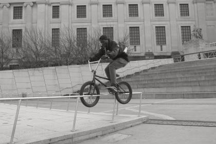 Brooklyn Museum Biker