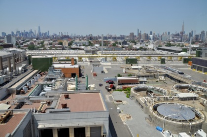 NYC Skyline From Newtown Creek T