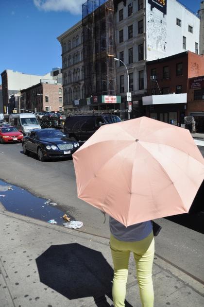 Pink Umbrella T
