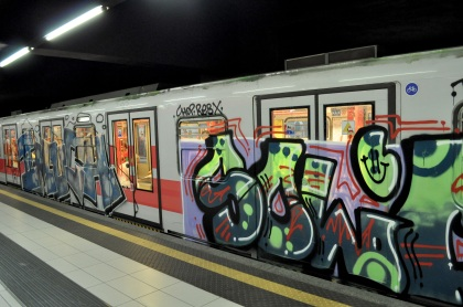 Bombed Train T