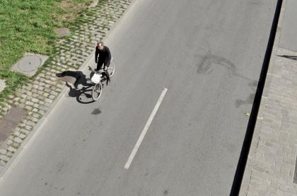 Lone Cyclist T