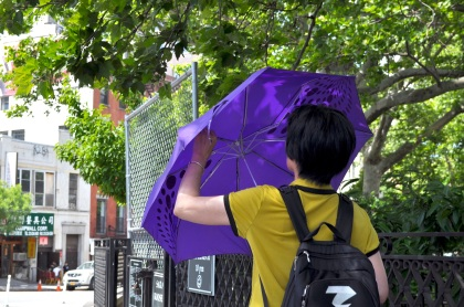 Purple Umbrella T