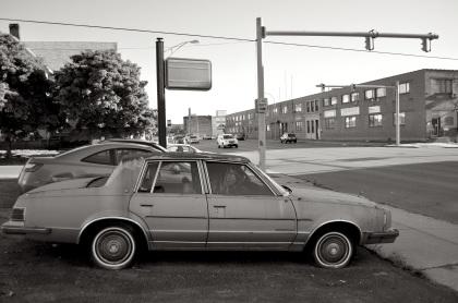 Old Car On Niagara Street T