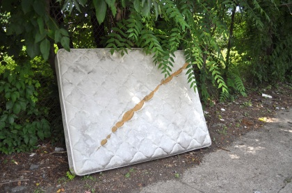 Slashed Mattress T