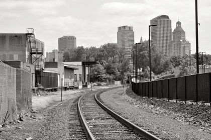 Hartford Train Tracks T