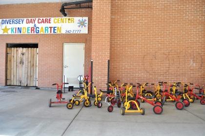 Kindergarten Tricycles T