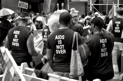 AIDS Is Not Over T