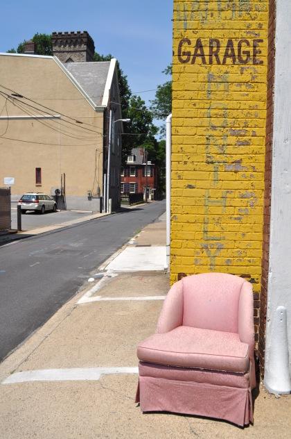 Pink Chair Garage T