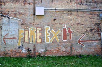 Fire Exit T