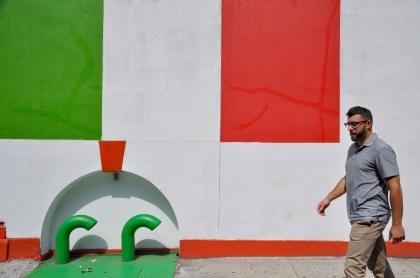 Italian Flag Wall T