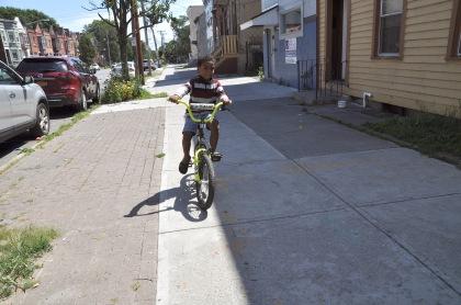 Sidewalk Biker T
